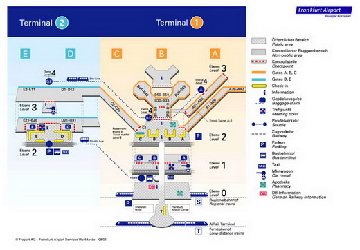 "Схема аэропорта ""Шарль"